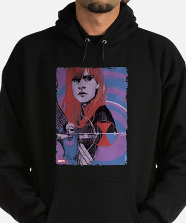 Hawkeye Black Widow Hoodie (dark)