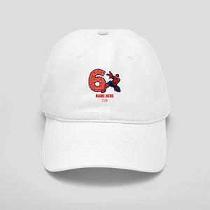 Spider-Man Personalized Birthday 6 Cap