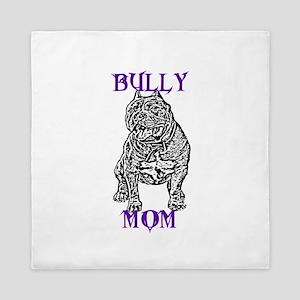 American Bully Mom Queen Duvet