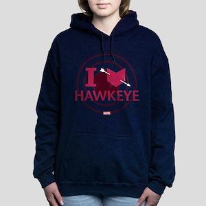 I Heart Hawkeye Variant Women's Hooded Sweatshirt