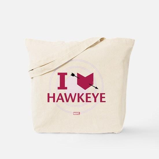 I Heart Hawkeye Variant Tote Bag