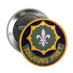 """SECOND ARMORED CAVALRY REGIMENT 2.25"""" Button"""