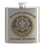 SECOND ARMORED CAVALRY REGIMENT Flask