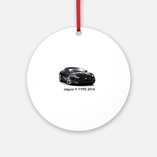 Jaguar F-TYPE 2014 Round Ornament
