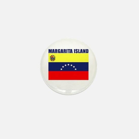 Margarita Island Mini Button