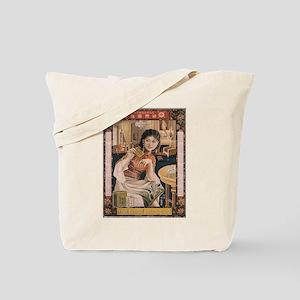 Vintage poster - Ken I Kohojo Tablets Tote Bag