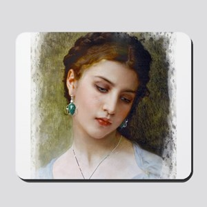 A Woman's beauty Mousepad