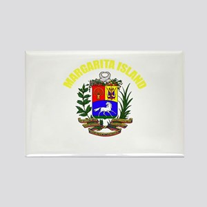 Margarita Island Rectangle Magnet