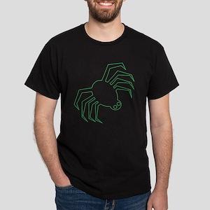 Green Spider Dark T-Shirt