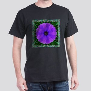 Purple Flower Pinwheel T-Shirt