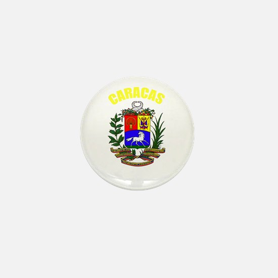 Caracas, Venezuela Mini Button