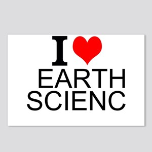 I Love Earth Science Postcards (Package of 8)