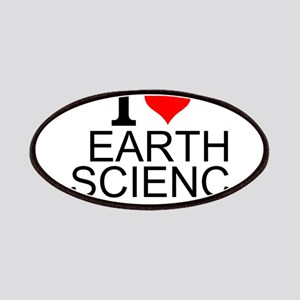 I Love Earth Science Patch