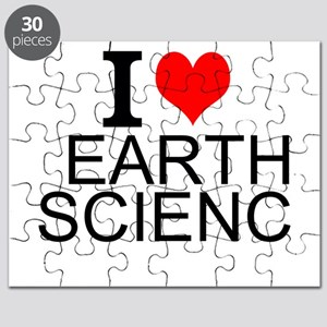 I Love Earth Science Puzzle