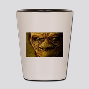 Day Bigfoot. Shot Glass