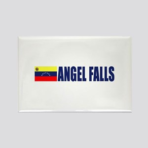 Angel Falls Rectangle Magnet