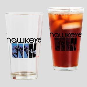 Hawkeye Panels Drinking Glass