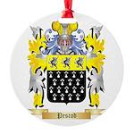 Pescod Round Ornament