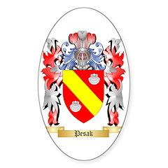 Pesak Sticker (Oval)