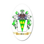 Pery 35x21 Oval Wall Decal