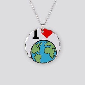 I Love Earth Necklace