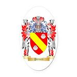 Perucci Oval Car Magnet
