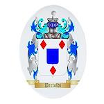 Pertoldi Oval Ornament