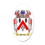 Pertini Oval Car Magnet