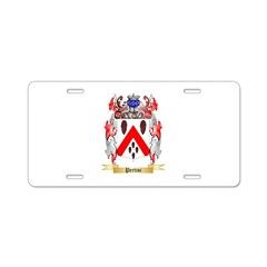 Pertini Aluminum License Plate