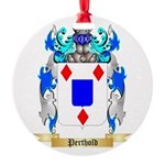 Perthold Round Ornament