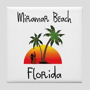 Apollo Beach Florida Tile Coaster