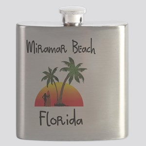 Miramar Beach Florida Flask