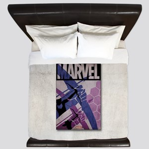Hawkeye Bows King Duvet