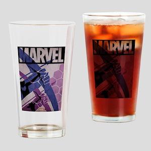 Hawkeye Bows Drinking Glass