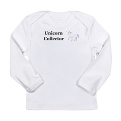 Unicorn Collector Long Sleeve Infant T-Shirt