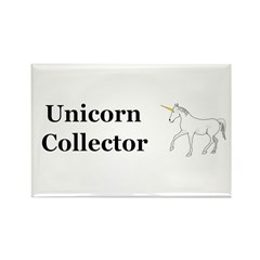 Unicorn Collector Rectangle Magnet