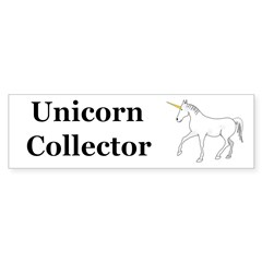Unicorn Collector Sticker (Bumper 50 pk)