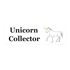 Unicorn Collector Wall Decal