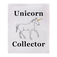 Unicorn Collector Throw Blanket