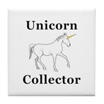 Unicorn Collector Tile Coaster