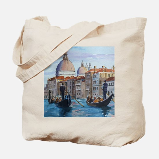 Cute Venice italy Tote Bag