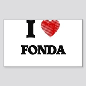 I Love Fonda Sticker