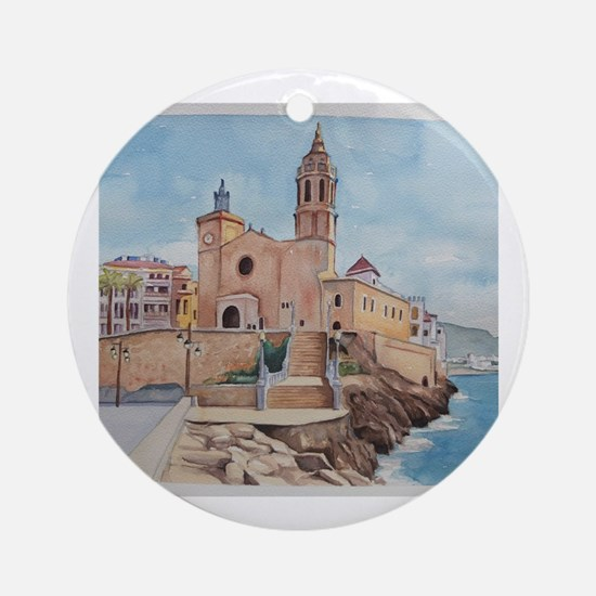 Sitges Round Ornament