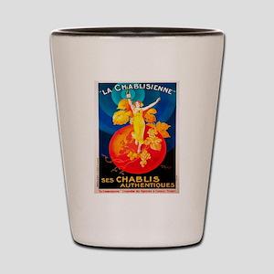 Vintage poster - La Chablisienne Shot Glass