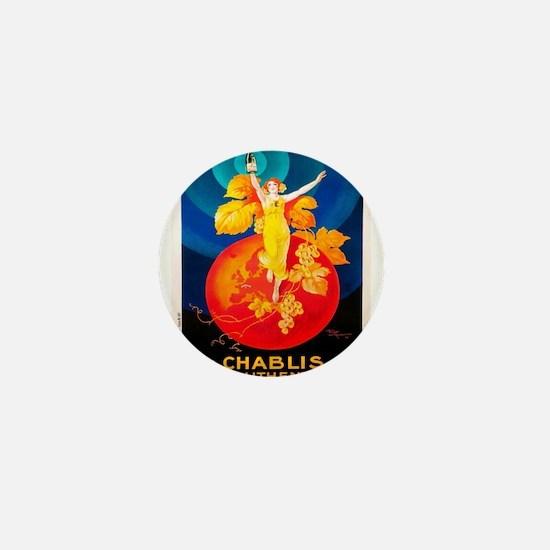 Vintage poster - La Chablisienne Mini Button