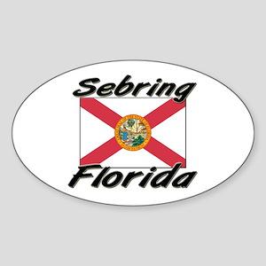 Sebring Florida Oval Sticker