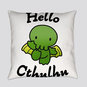 Hello cthulhu Everyday Pillow