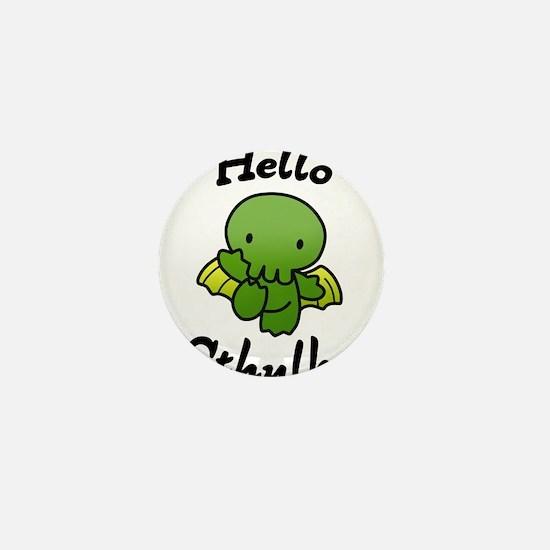 Hello cthulhu Mini Button