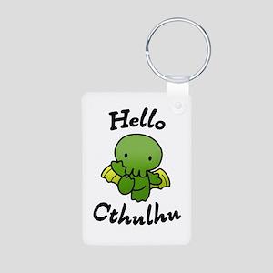 Hello cthulhu Keychains