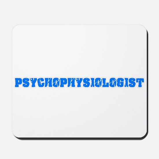 Psychophysiologist Blue Bold Design Mousepad